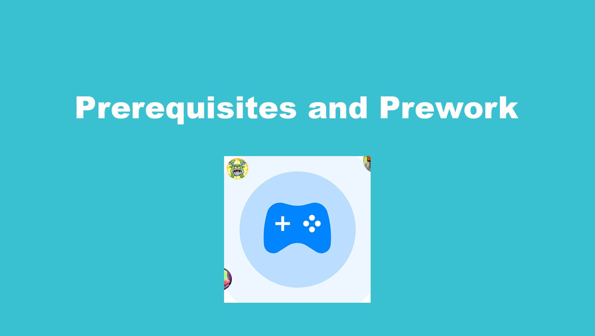 Prerequisites and Prework - Facebook Instant Game 1